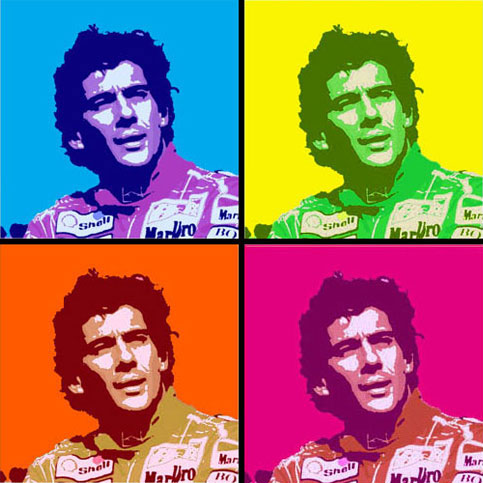 Senna pop art : Proetra